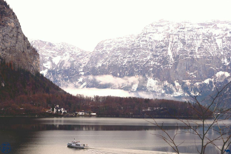 Le Chameau Bleu - Blog Voyage Autriche - Ferry de Hallstatt