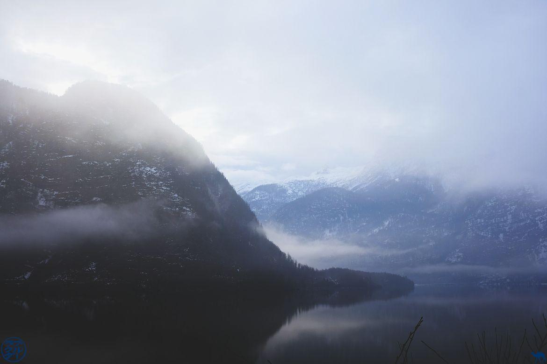 Le Chameau Bleu - Blog Voyage En Autriche - Brume de Hallstatt