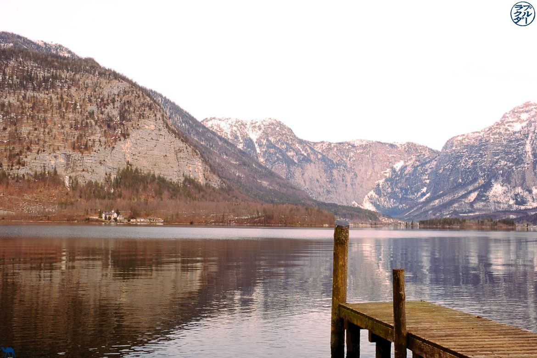 Le Chameau Bleu - Bog Voyage Autriche - Ponton de Hallstatt