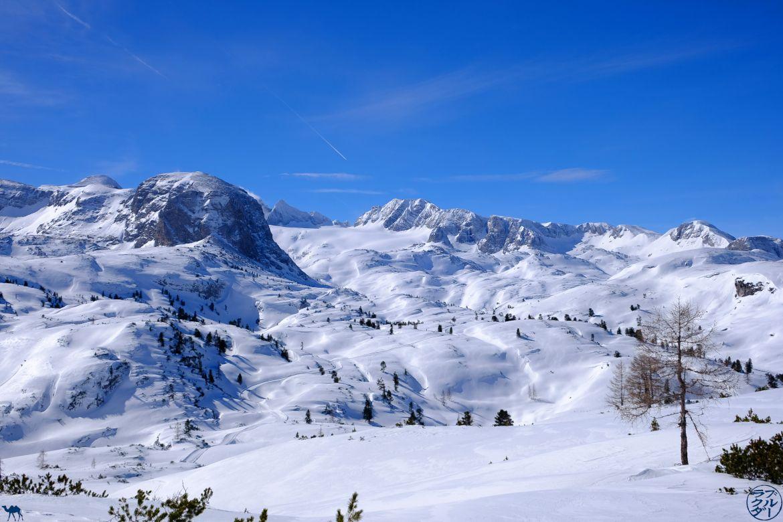 Le Chameau Bleu - Blog Voyage Autriche - Randonnée en raquettes au Dachstein Krippenstein