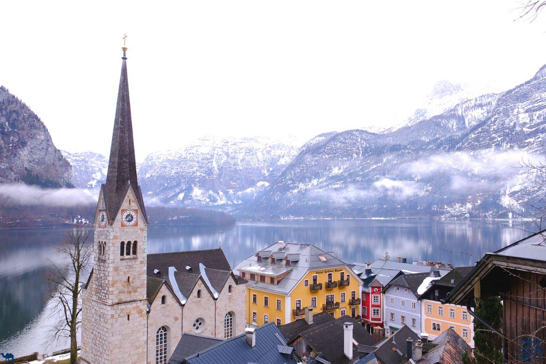 Le Chameau Bleu - Blog Voyage Autriche - Les hauteurs de Hallstatt
