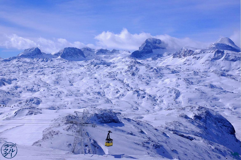 Le Chameau Bleu - Blog Voyage en Autriche -Téléphérique du Dachstein Krippenstein