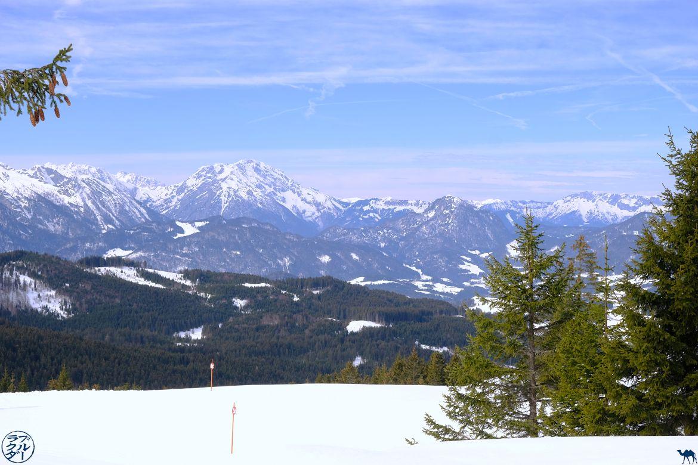 Le Chameau Bleu - Voyage en Autriche - Paysage de Dachstein West