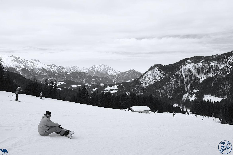 Le Chameau Bleu - Voyage En Autriche - Snowboard a Dachstein West