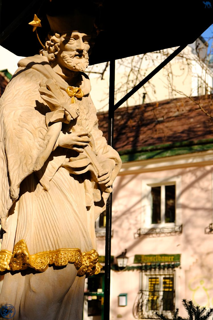 Le Chameau Bleu - Blog Voyage Autriche- Sculpture de Vienne