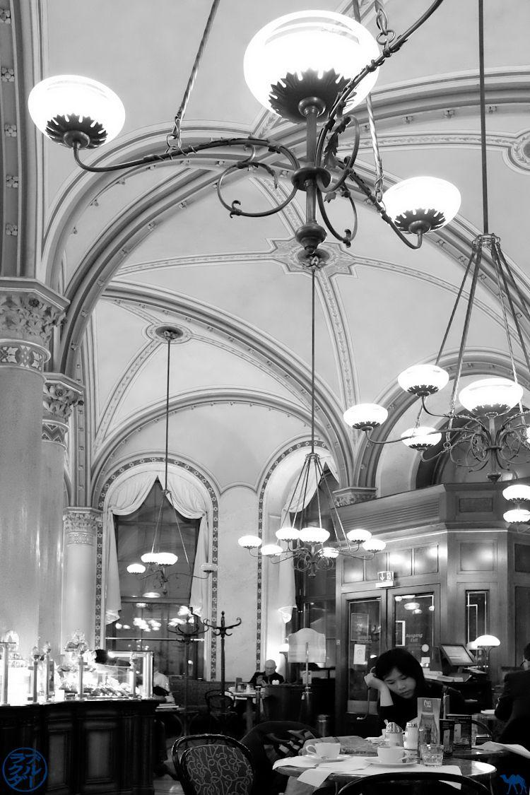 Le Chameau Bleu Blog Voyage Autriche- Café Central de Vienne