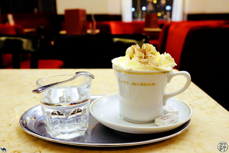 Le Chameau Bleu - Blog Voyage Vienne - Chocolat Chaud au Café Museum