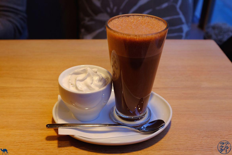 Le Chameau Bleu- Blog Voyage Autriche - Café de Vienne - Chocolat chaud Vegan