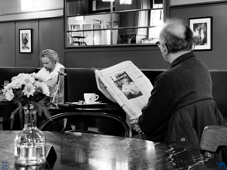 Le Chameau Bleu - log Voyage Vienne - Client du Café WestEnd