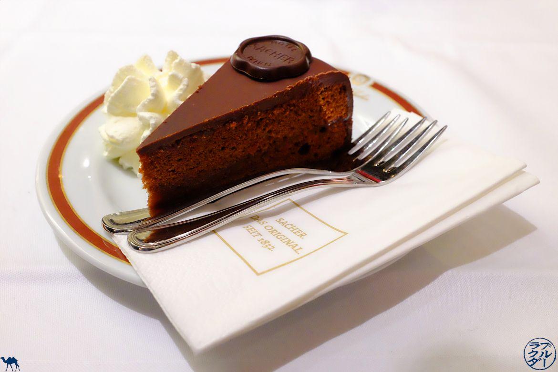 Le Chameau Bleu- Blog Voyage Autriche - Café de Vienne - Sacher Torte