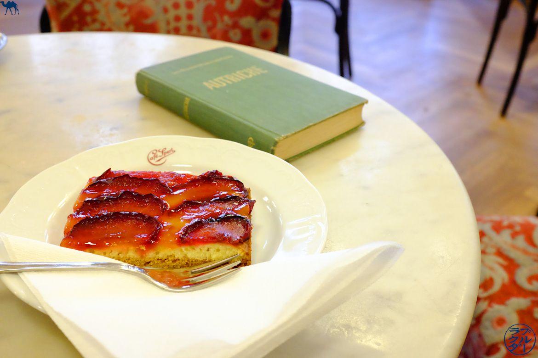 Le Chameau Bleu- Blog Voyage Autriche - Café de Vienne - Tarte du Cafe Sperl