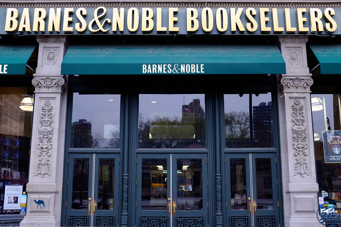 Sélection de libraire à New York - Barnes and Noble sur Union Square - Le Chameau Bleu