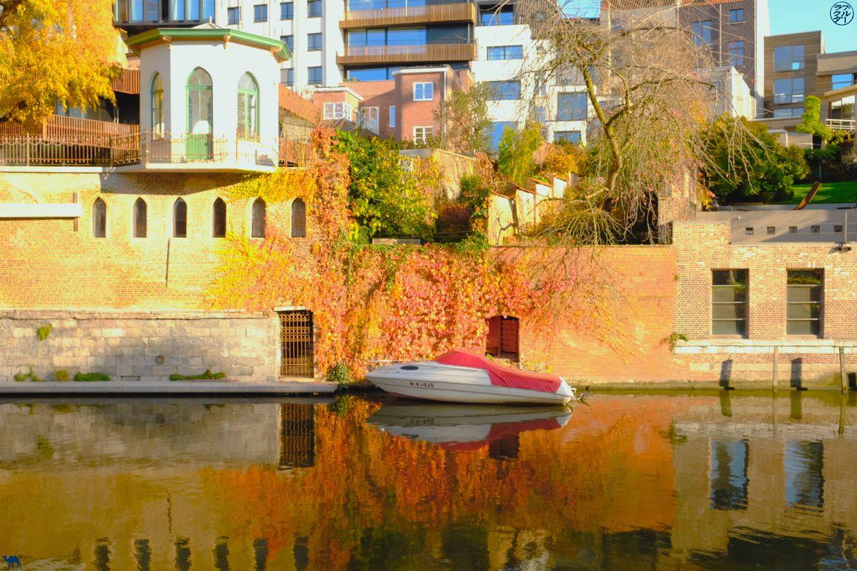 Le Chameau Bleu - Blog Week End à Gand - Bateau et Canaux