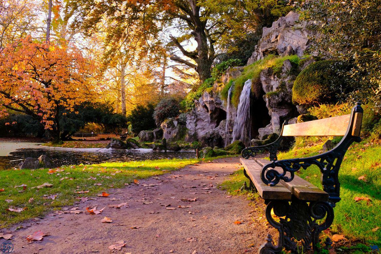 Le Chameau Bleu - Blog Week End à Gand - Cascade du Citadel Park