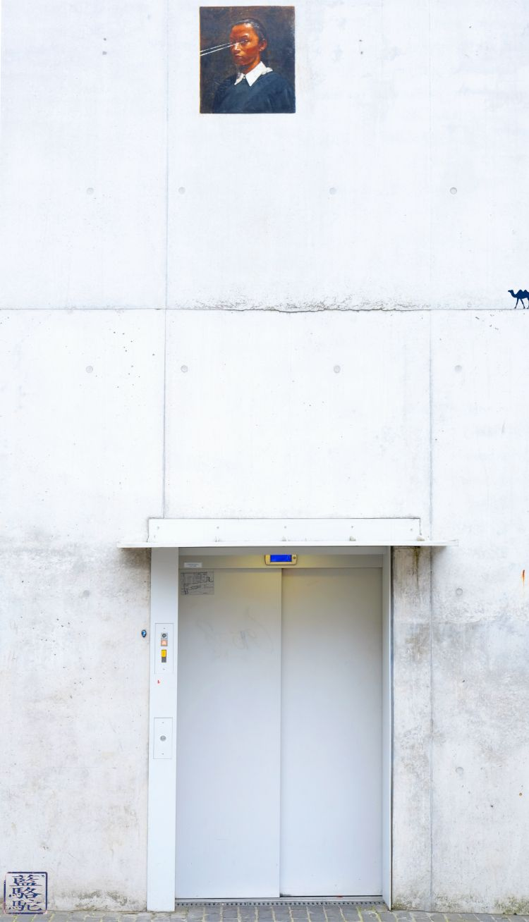 Le Chameau Bleu - Blog Voyage Gand Belgique - La vierge de Michaël Borremans - Gand Curiosité de la Belgique