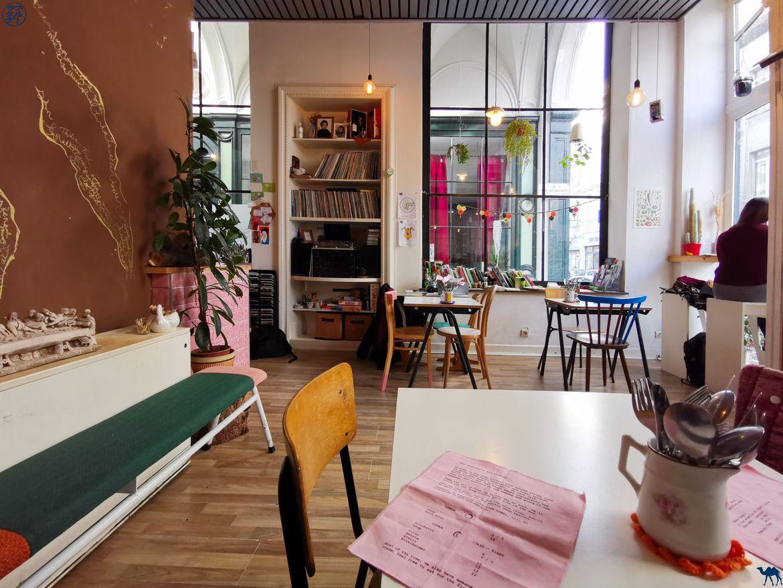 Le Chameau Bleu - Blog Voyage Gand - Restaurant Lokaal