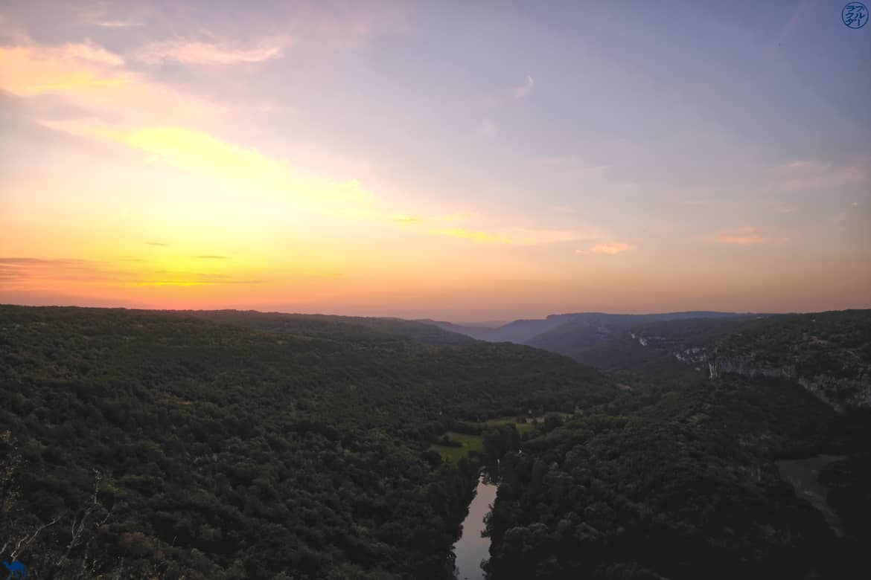 Le Chameau Bleu - Blog Voyage - Les Gorges de l'Aveyron  - Belvedere Cirque de Bone - Tarn et Garonne