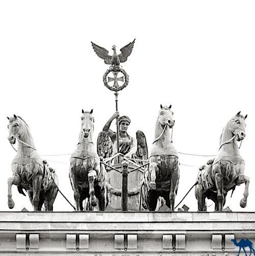 Le Chameau Bleu - Blog Voyage Berlin - Porte de Brandebourg