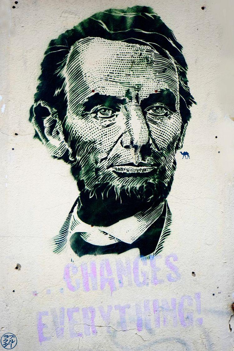 Le Chameau Bleu - Blog Voyage Berlin Allemagne - Street art Berlinois - Abraham Lincoln Berlin Allemagne
