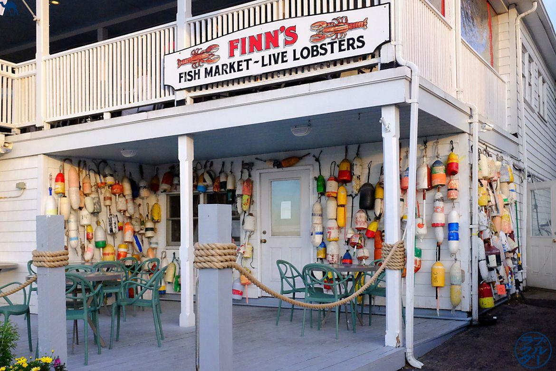 Le Chameau Bleu - Blog Voyage Block Island -Fish Market de Block Island