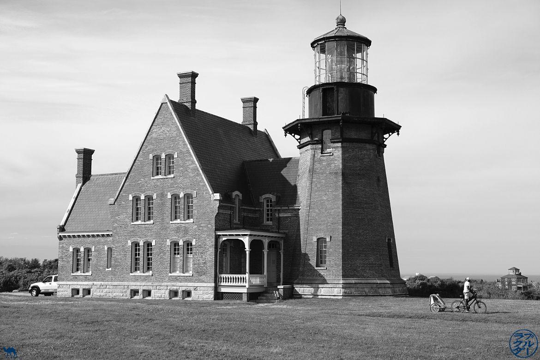 Le Chameau Bleu - Blog Voyage Block Island - Phare au Sud de Block Island