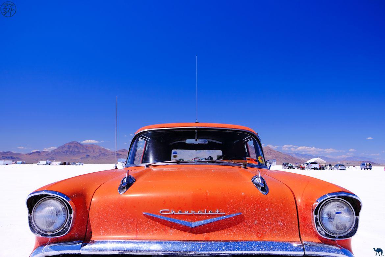 Le Chameau Bleu - Blog Voyage Utah - Chevrolet de Bonneville Flats