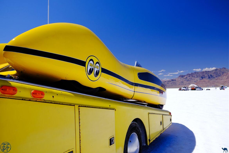 Le Chameau Bleu - Blog Voyage Usa- Bonneville Salt Flats - Utah - Moon