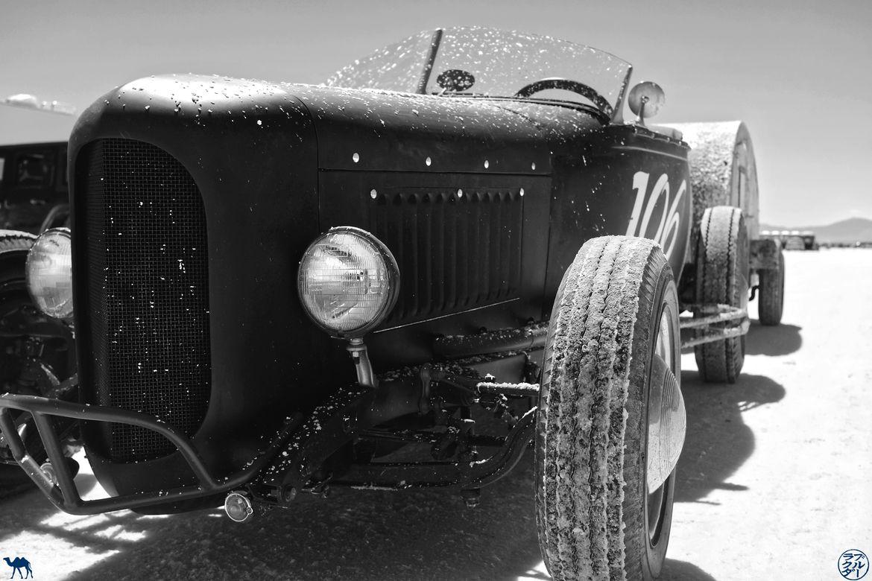 Le Chameau Bleu - Blog Voyage Bonneville Salt Flats Utah - Roues de voiture