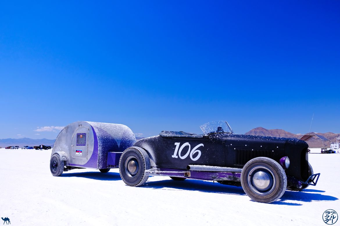 Le Chameau Bleu - Blog Voyage Bonneville Salt Flats- Bonneville Speed Week