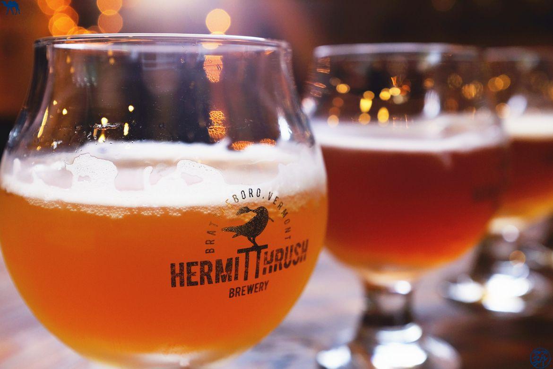 Le Chameau Bleu Blog Voyage Brattleboro Vermont - Biere Hermit Thrush