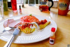 Le Chameau Bleu - Blog Voyage Vermont - Petit Déjeuner de Inn On the Putney Road