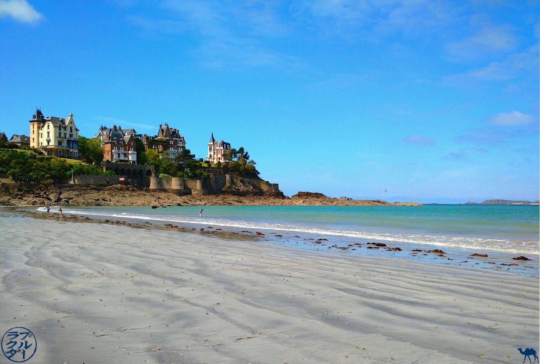 Le chameau bleu - Plage de Dinard - Bretagne Brittany France