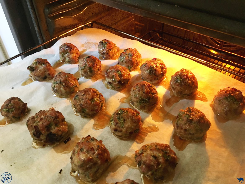 Le Chameau Bleu - Blog Voyage et Gastronomie - Bun Cha en cours de cuisson