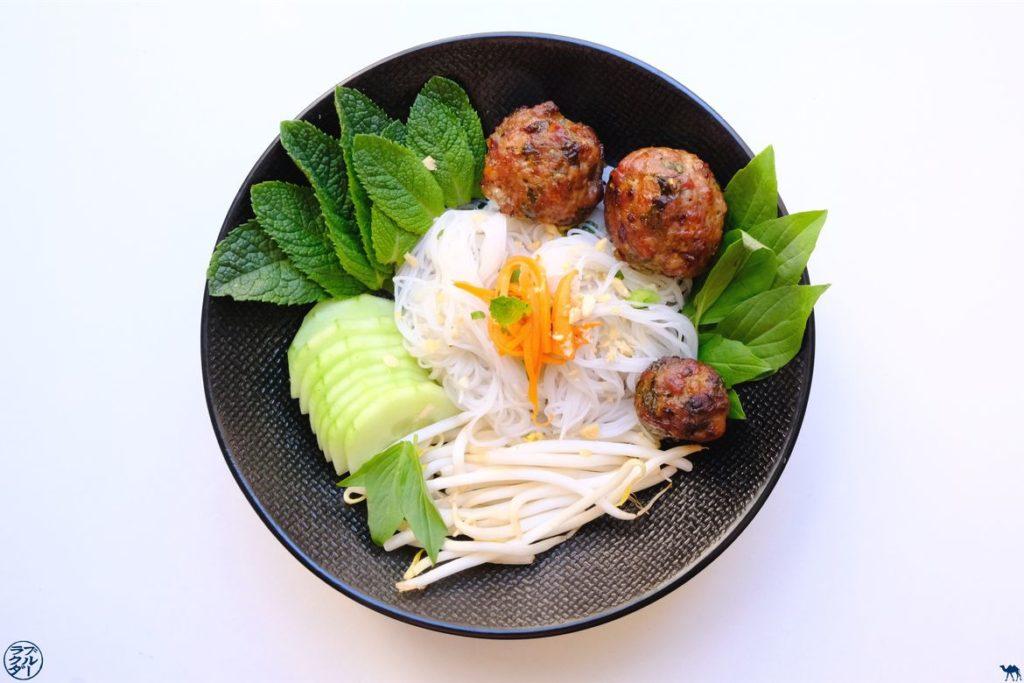 Le Chameau Bleu - Blog Voyage et Gastronomie - Recette du Bun Cha Vietnamien