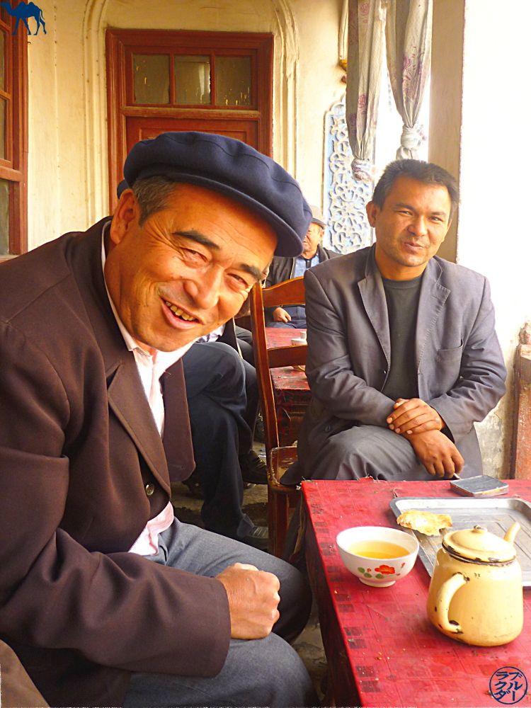 Le Chameau Bleu - maison de thé au Xinjiang