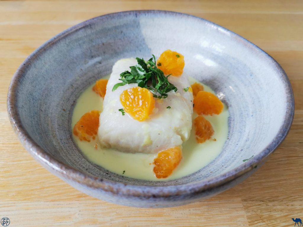 Le Chameau Bleu - Blog Gastronomie - Recette Cabillaud-Coco-Clementine