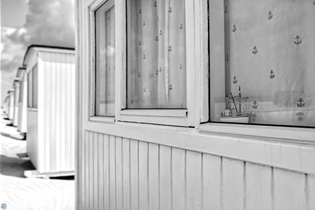 Le Chameau Bleu - Blog Voyage et Photo - Danemark - Cabine de lokken