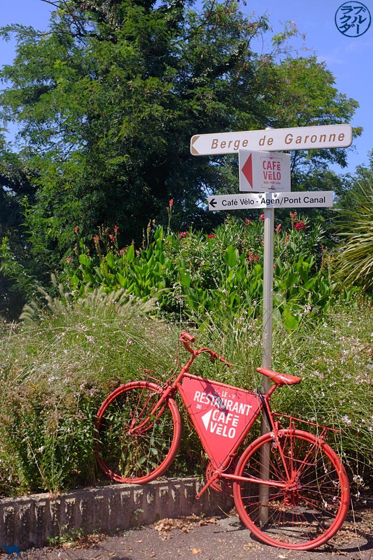 o camelo azul - Blog viajar bicicleta o canal de 2 lugares - bicicleta em casa no Canal 2 Seas em Agen