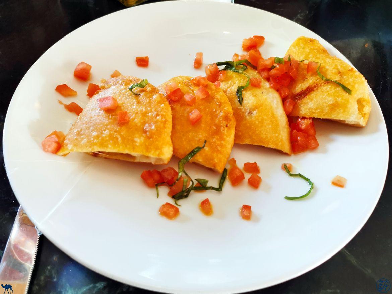 Le Chameau Bleu - Blog Voyage à San Francisco - Repas Cafe Zoetrope