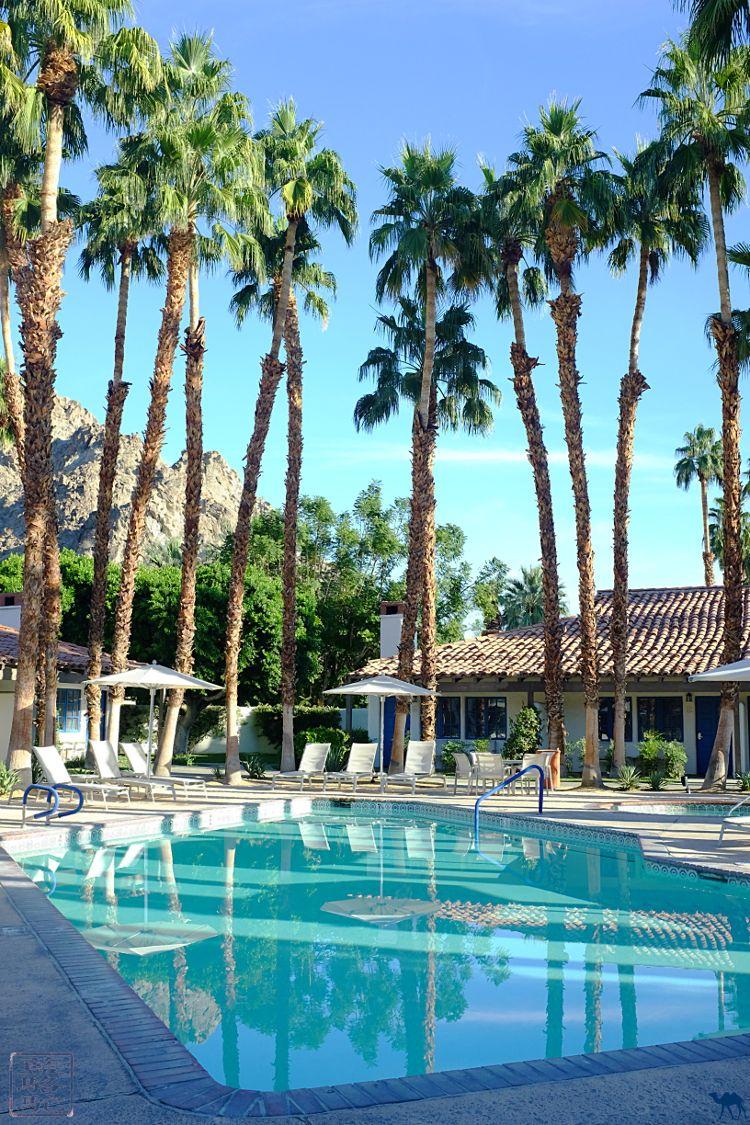 Le Chameau Bleu - Hotel La Quinta à Palm Springs Californie du Sud USA