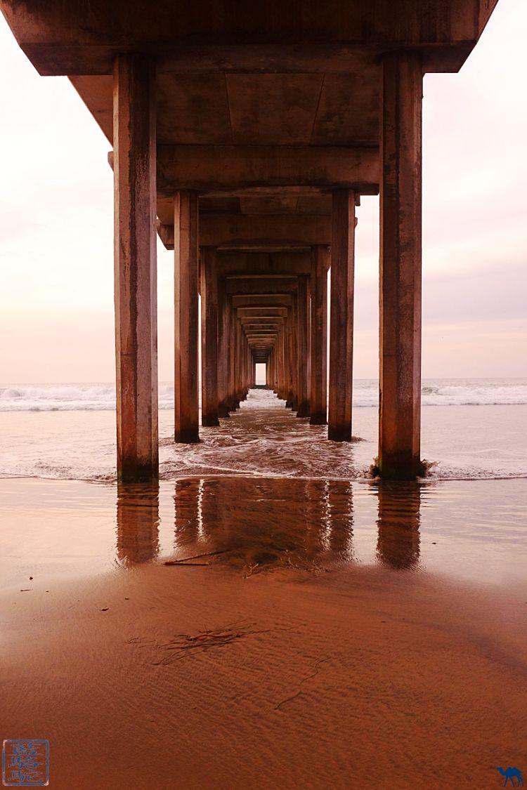 Le Chameau Bleu- Blog voyage - Californie du Sud-Ponton San Diego