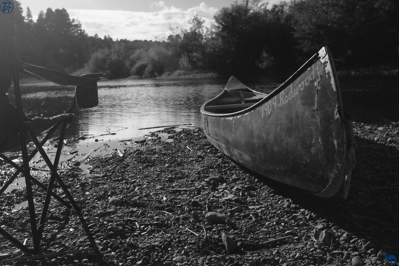 Le Chameau Bleu - Blog Voyage Californie -Canoe à Russian River