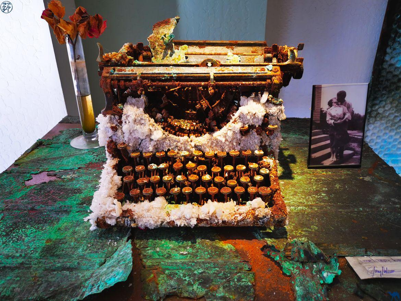 Le Chameau Bleu - Blog Voyage Napa Valley - Galerie d'Art à Calistoga