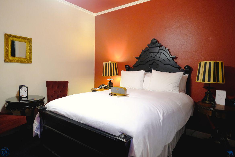 Le Chameau Bleu - Blog Voyage Napa Valley - Chambre de l'Hotel Mount View à Calistoga