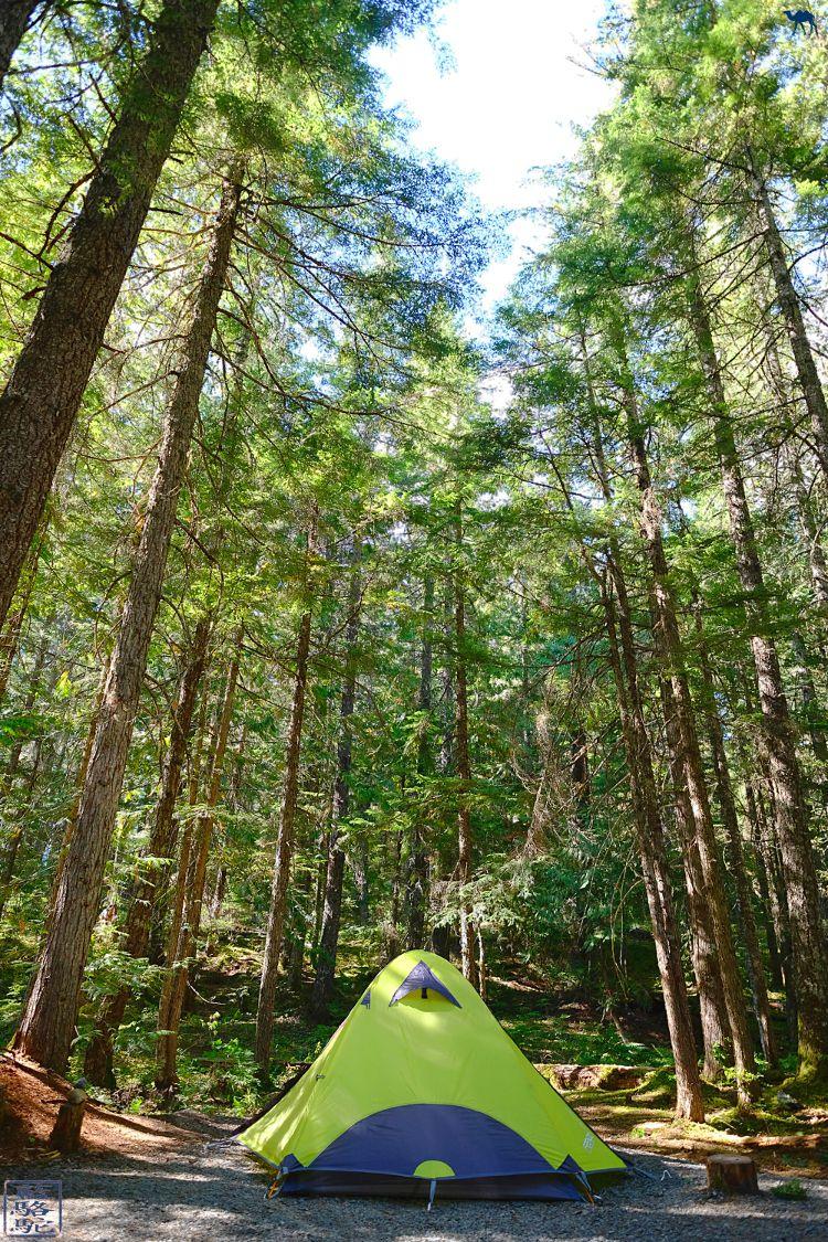 Le Chameau Bleu - Blog Voyage Canada - Camping de Whistler BC Colombie Britannique Canada