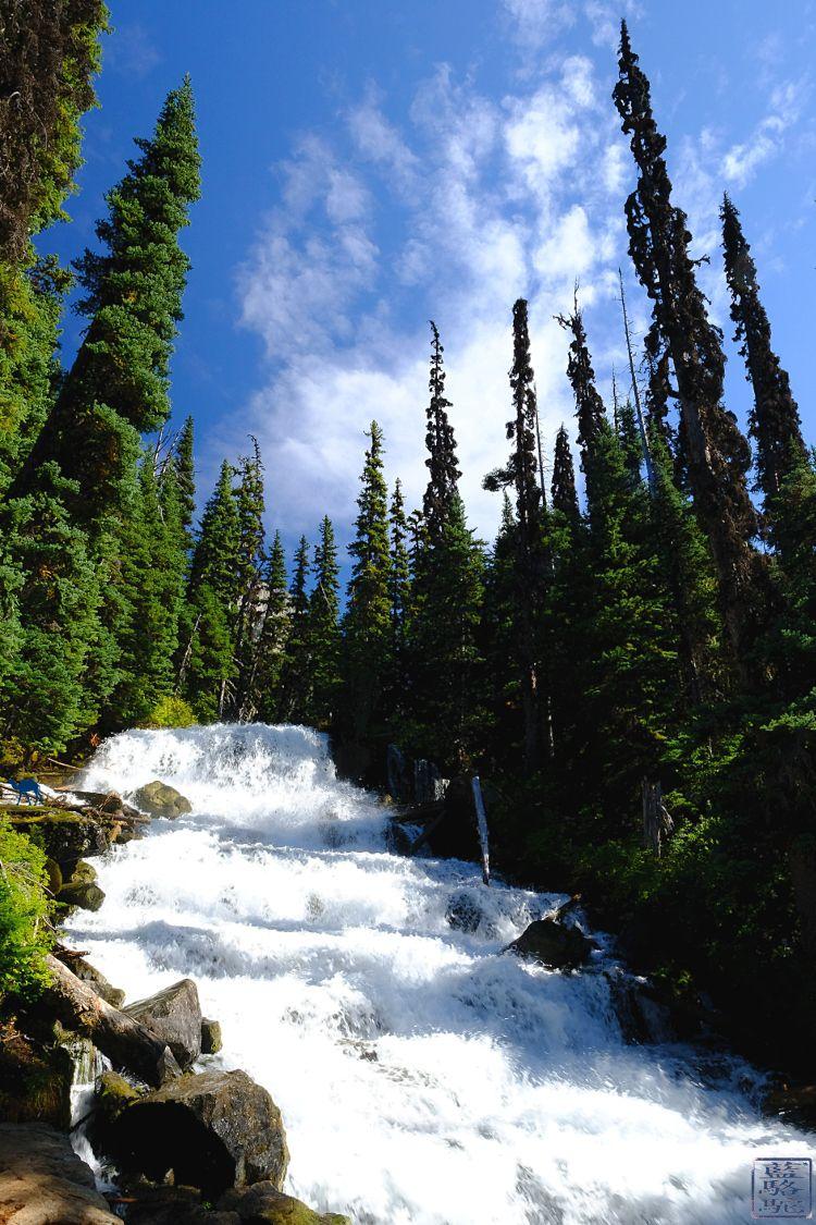 Le Chameau Bleu - Blog Voyage Colombie Britannique Canada - Cascade Joffre lake BC Colombie Britannique Whistler Canada