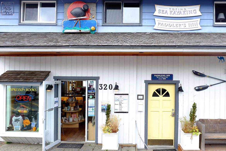 Le Chameau Bleu - Blog Voyage Tofino Canada - Tofino Sea Kayaking Café Boutique Location Kayak Paddle