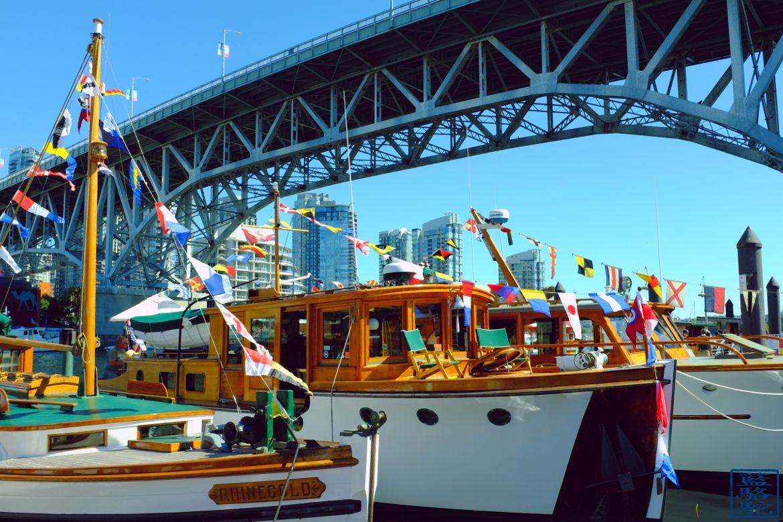 Le Chameau Bleu - Blog Voyage Vancouver Canada - Bateau de Granville Island - Vancouver