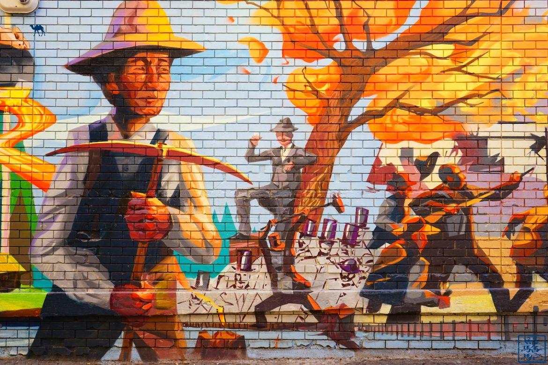 Le Chameau Bleu - Blog Voyage Vancouver Canada - Street Art de Vancouver