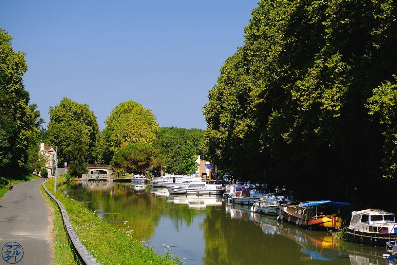Le Chameau Bleu -Blog Voyage Photo du Lot et Garonne - Canal des deux mers au mas d'agenais